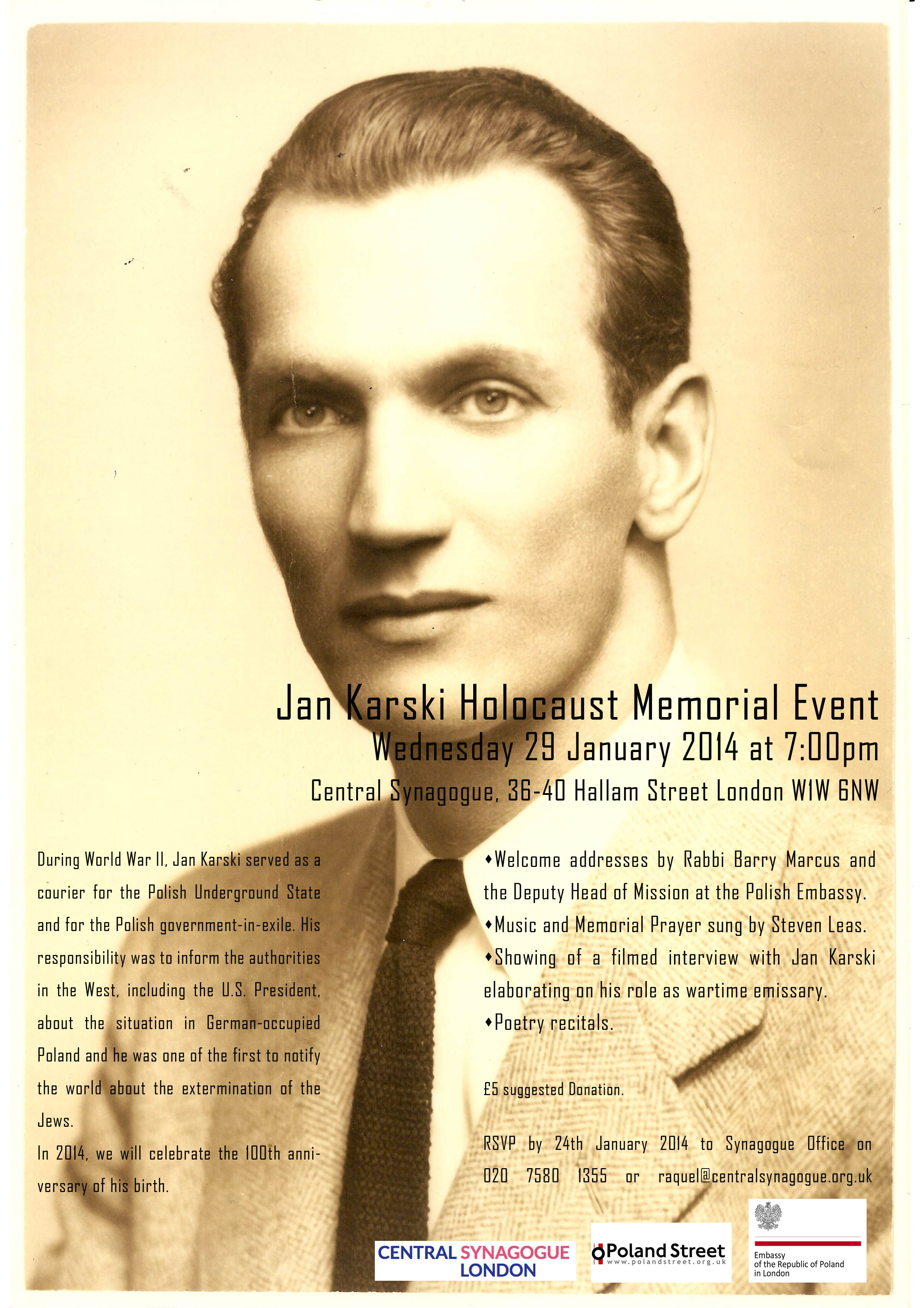 Jan Karski Memorial Event copy2