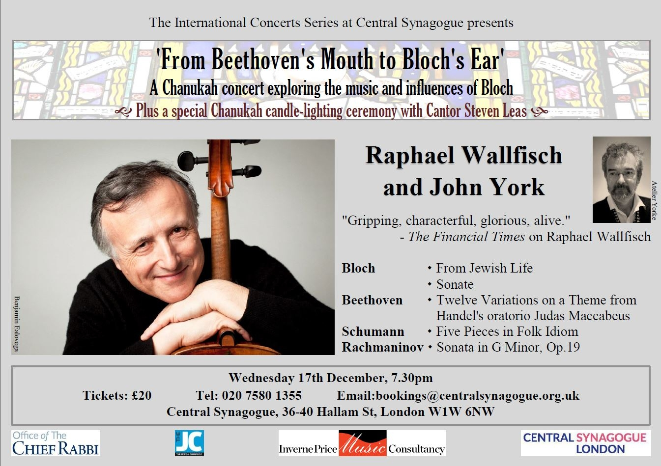 Final Chanukah Concert